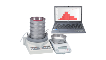 Software AUTOSIEVE for Windows for control and automatic evaluation of sieve analysis (price for software activation)